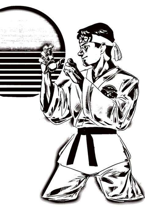 cobra kai coloring pages printable coloring pages  day coloring pages  children