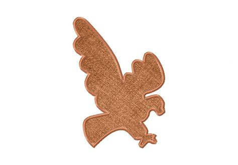 Eagle Applique by Eagle Silhouette Machine Applique Embroidery Design