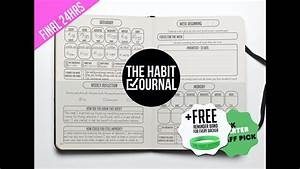 the habit journal track your habits and achieve your