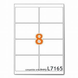 avery 5881 laser glossy business cards 2 x 3 1 2 white 8 With 8 per page label template