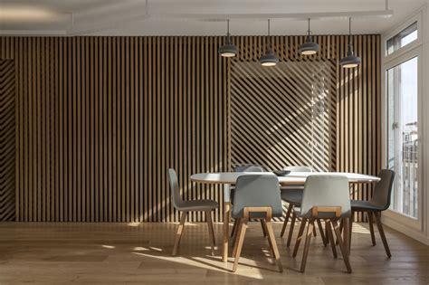 mur et porte coulissante en claustra tasseaux de bois sur ch 226 ssis m 233 tal avec des jeu de