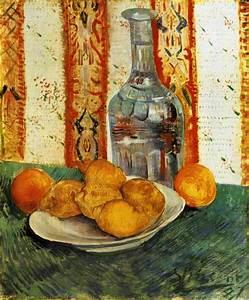 Natura morta con bottiglia e limoni Vincent van Gogh