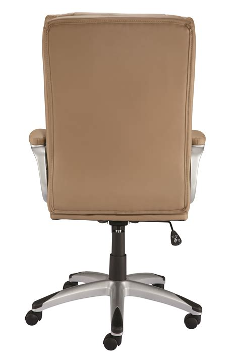 staples burlston luxura managers chair camel