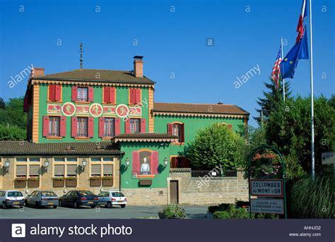 paul bocuse restaurant collonges au mont d or lyon stock photo royalty free image