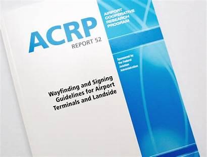 Signing Acrp Wayfinding Guidelines Report Terminals Landside