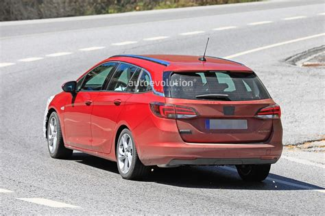 2020 Opel Astra by 2020 Opel Astra Wagon Spied With Mild Facelift Getting