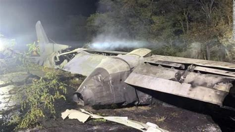ukraine plane crash  people killed  military disaster