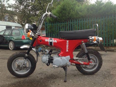 Classic Honda Monkey by 1974 Honda Monkey Bike Dax Classic 12 Month Mot No