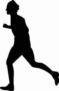 Clipart - Man Running