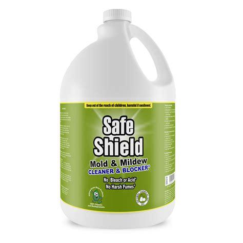 Boat Mildew Prevention by Non Toxic Mold Cleaner Preventer 1 Gallon