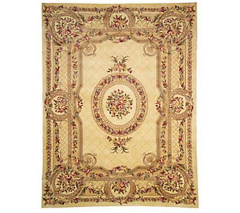 qvc rugs clearance royal palace 9 x 12 handmade wool rug qvc