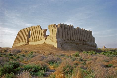 ancient merv archaeological site world monuments fund
