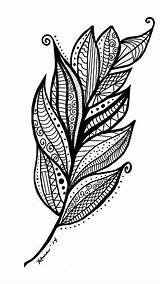 Coloring Feather Feathers Arrow Adult Swirl Swirls Creative Drawing Pen Leaf Adults Mosaic Template Leaves Colouring Mandala Sns Based Abstract sketch template