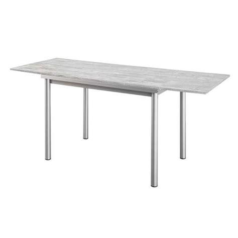 table cuisine rallonge table de cuisine en stratifié avec rallonges basic 4