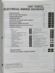Toyota Tercel 97 Wiring Diagram