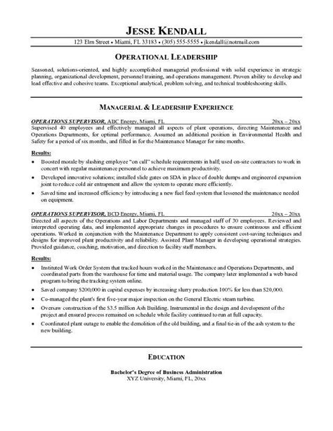 plant manager resume gse bookbinder co