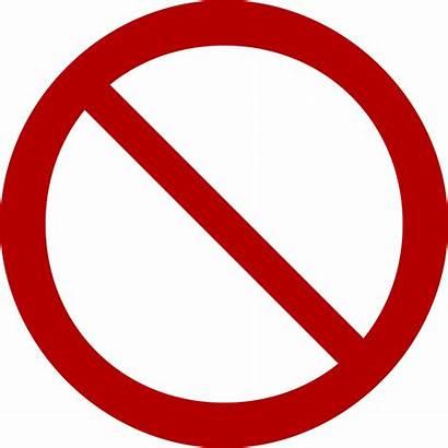 Sign Prohibition Clipart Signs Symbols Symbol Word