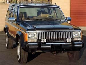 California Original  1985 Jeep Cherokee Wagoneer Limited
