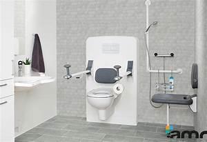 Accessoires Pour Salle De Bain : salle de bains adapt es pour tous pmr amrconcept ~ Edinachiropracticcenter.com Idées de Décoration