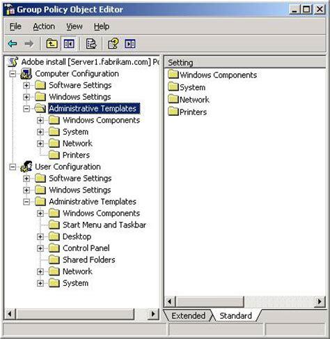 administrative templates adm template repository