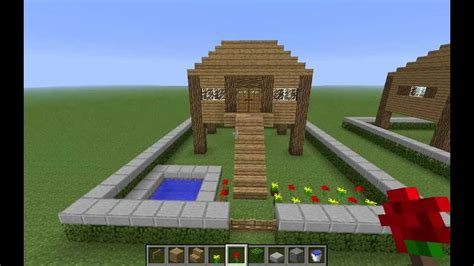 minecraft tutorials ep  simple house youtube