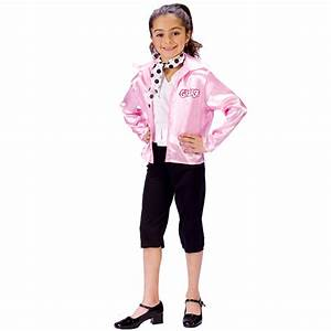 Cheap Grease Pink Ladies Child Costume at Go4Costumes.com