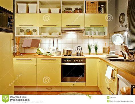 cuisine jaune cuisine jaune images stock image 3473554