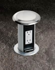 kitchen island electrical outlet cupboards kitchen and bath genius moment carlon pop up receptacle