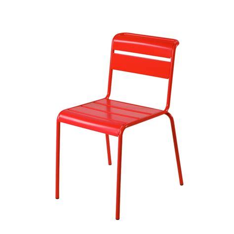 chaise aluminium exterieur chaise lutetia