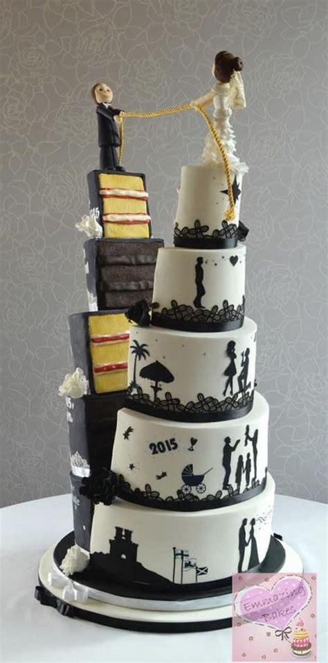 amazing wedding cakes  images amazing