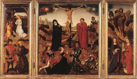 sforza triptych by weyden rogier van der