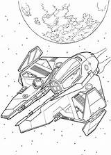 Spaceship Coloring Wars Star Pages Spaceships Alien Drawing Ships Space Colouring Drawings Printable Cartoon War Kleurplaten Print Printables Sketch Disney sketch template