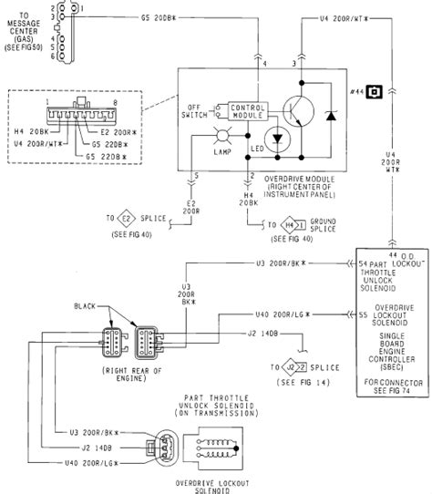 1990 Dodge W250 Wiring Diagram by 91 Dodge 1 Ton 4x4 Automatic Overdrive Does Nt Work