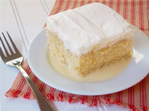 tres leches cake mix yesterfood tres leches cake
