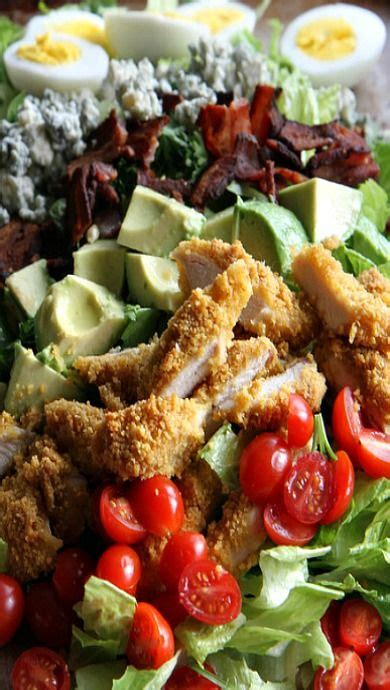 Fried Chicken Cobb Salad