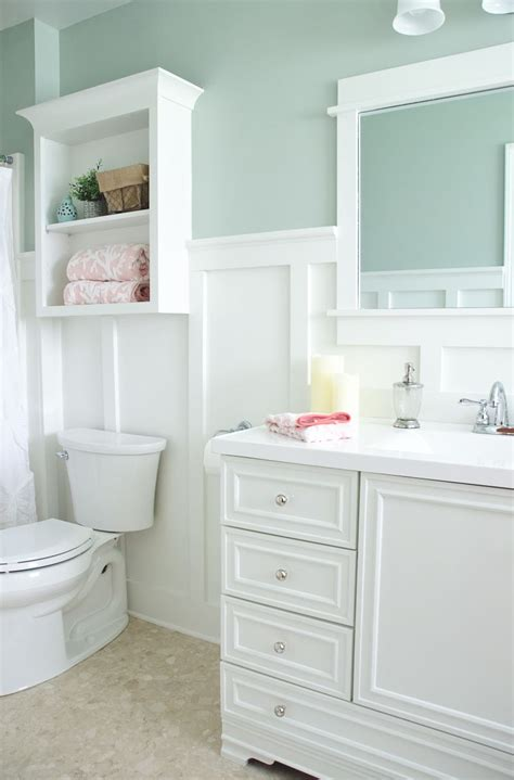 bathroom ideas lowes lowe s bathroom makeover reveal board batten all