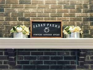 Custom, Family, Farm, Name, Fall, Sign, By, Cedars, U0026, Grace, Co