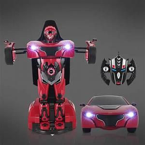 Offre Reprise Voiture Plus De 8 Ans : homcom voiture t l command e transform en robot enfant plus de 8 ans 2 4g 7 8km h 4 8v rouge ~ Gottalentnigeria.com Avis de Voitures