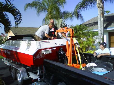 Best Offshore Boats On A Budget by Best Way To Pull Motor Out Of The Boat