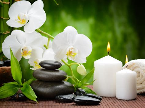 stone spa wallpapers high quality