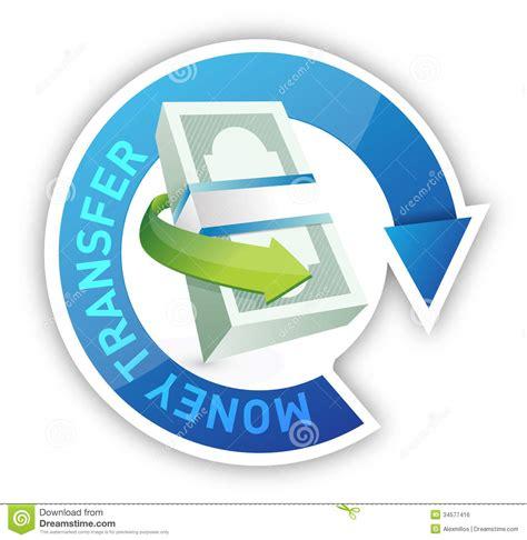bureau de transfert d argent conception d 39 illustration de transfert d 39 argent