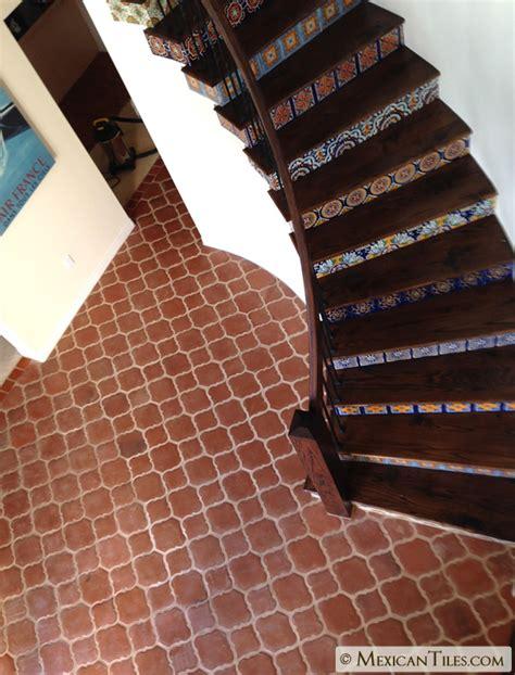 mexican tile mission terracotta floor tile