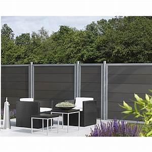 Sichtschutz Glas Bauhaus : sichtschutz halbelement wpc 90 x 180 cm bauhaus ~ Eleganceandgraceweddings.com Haus und Dekorationen
