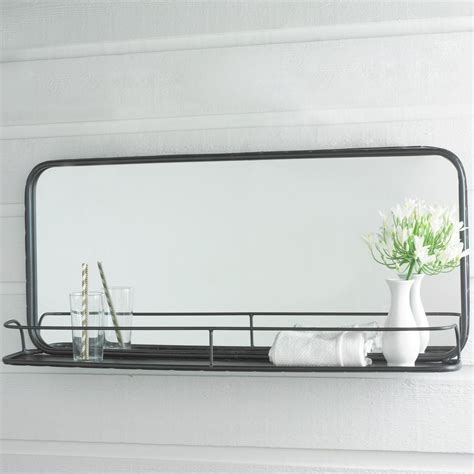 Mirror Shelf Bathroom by Metal Mirror With Shelf Large Ideas For Cole Cole