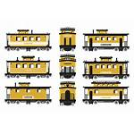 Caboose Vector Icons Rail Illustration Clipart Cantilever