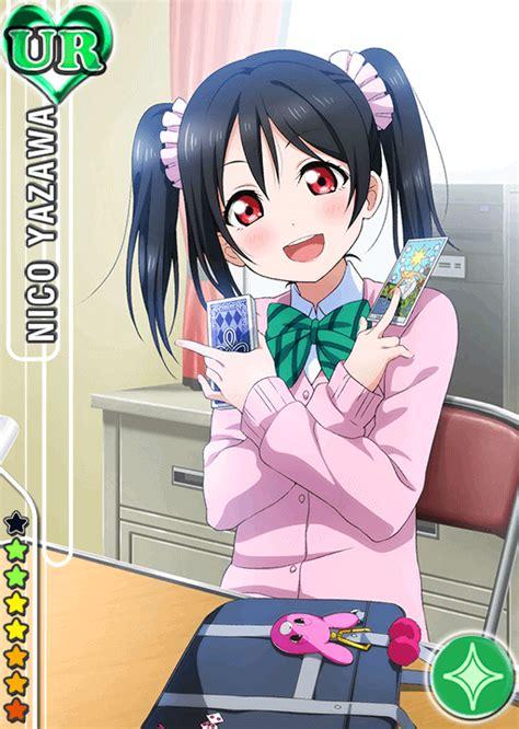 school idol tomodachi cards album  yazawa nico ur