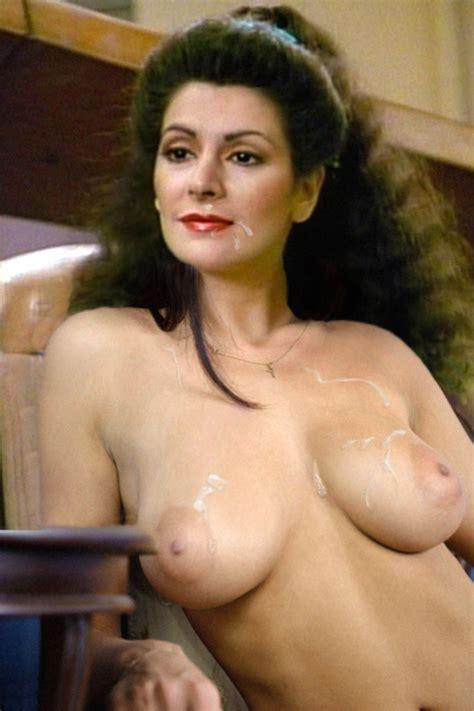 Hardcore Marina Sirtis Fake Star Trek Xxx Series Counselor Troi Hig