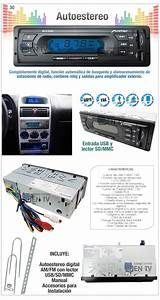 Oferta Auto Estereo Digital Fm Mp3 Usb Sd Ipod Pantalla