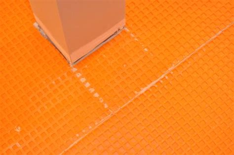 how to install schluter ditra tile underlayment one
