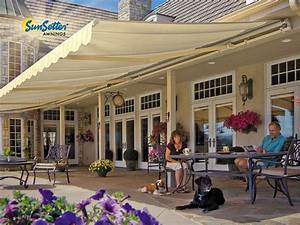 18 Ft  Sunsetter Motorized Xl Retractable Awning